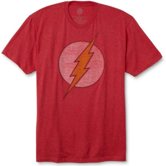 The Flash Distressed Classic Logo T-Shirt